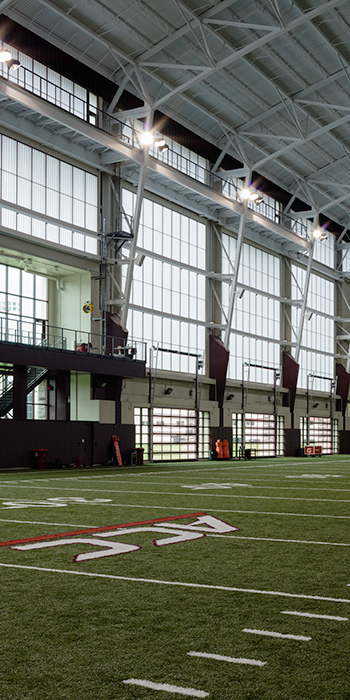 VT Indoor Athletic Training Facility