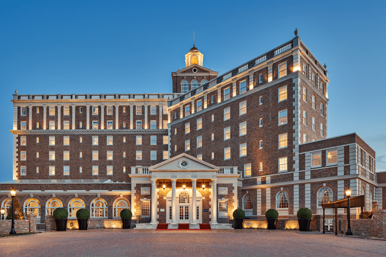 Restoration of the Historic Cavalier Hotel
