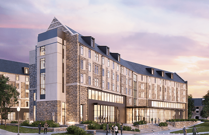 Virginia Tech Creativity and Innovation District Residence Hall